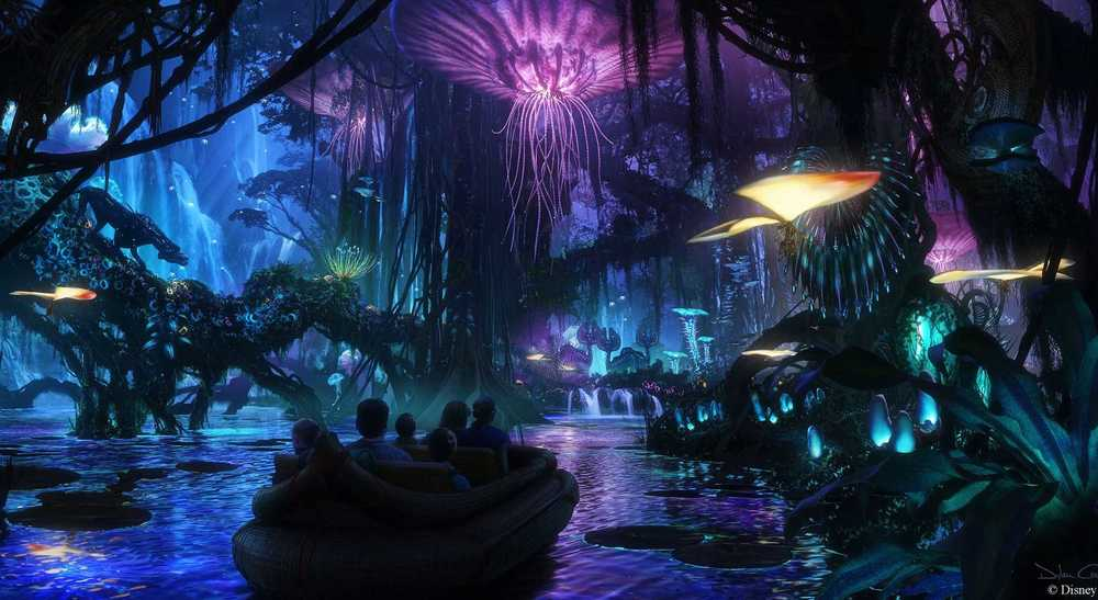 Pandorra at The World of Avatar, Animal Kingdom Image Credit: wdwmagic.com