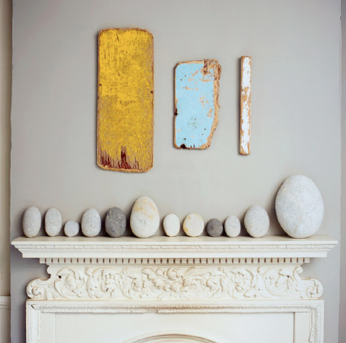 Paint boards above mantel w stones web.jpg