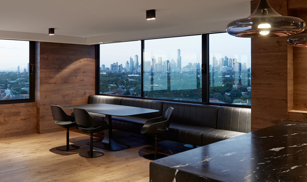 Penthouse Interior Design St Kilda West Residential Interior