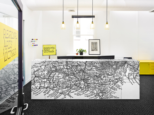 Regional arts victoria commercial corporate office designers in melbourne