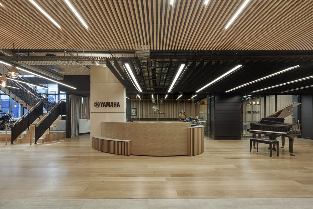 Commercial corporate office interior design yamaha music australia headquarters yamaha music australia headquarters