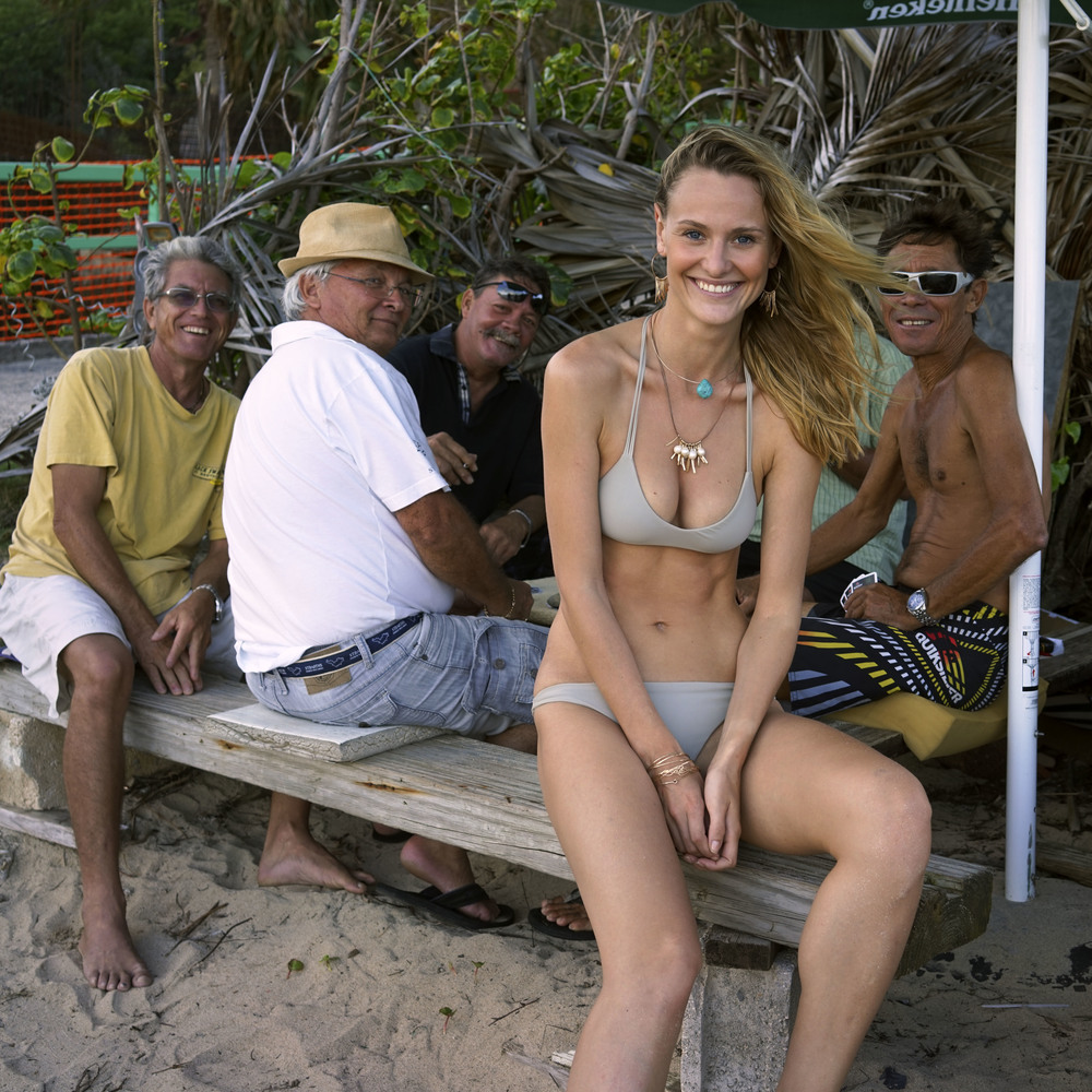 Sigute & the boys, Saint Barthélemy.
