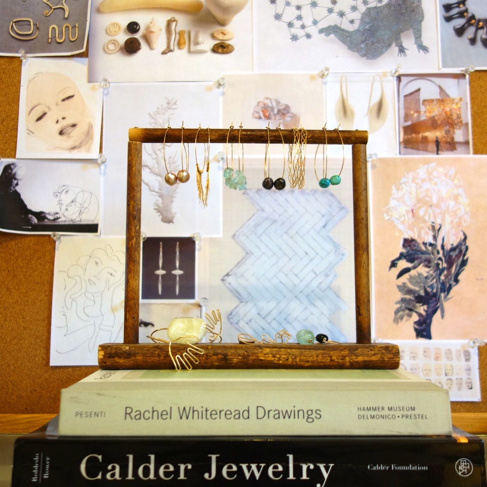 Calder, Whiteread, & our inspiration board.