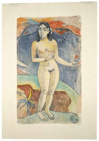 Paul Gauguin. Nave nace fenua (Delightful Land). Monotype print, 1894. MoMA, New York, NY.