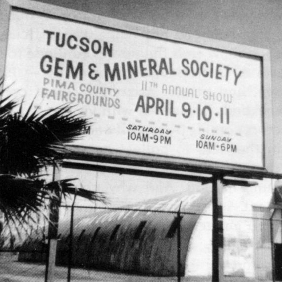 11th Anual Gem Show Billboard