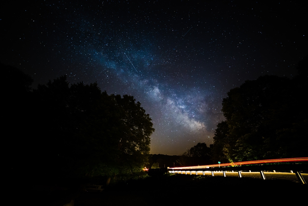 Milky Way at Comstock Bridge - East Hampton CT