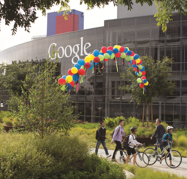 Google's headquarters in Mountain View, California. (Corbis)