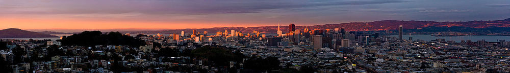 San Francisco Twin Peaks Sunset (KennyOMG)