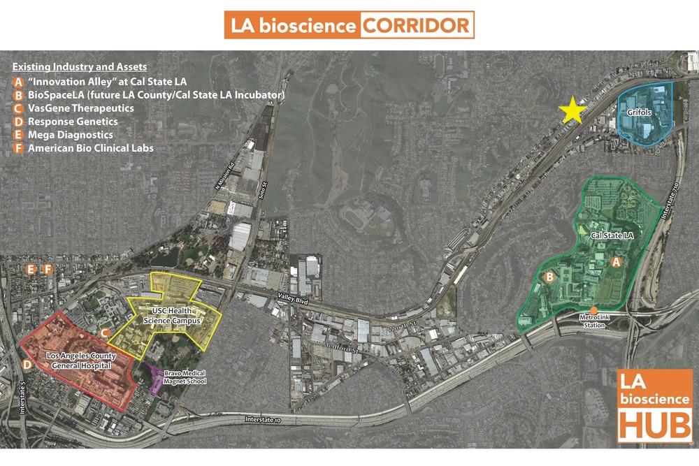 LA Bioscience Corridor Alhambra Ave