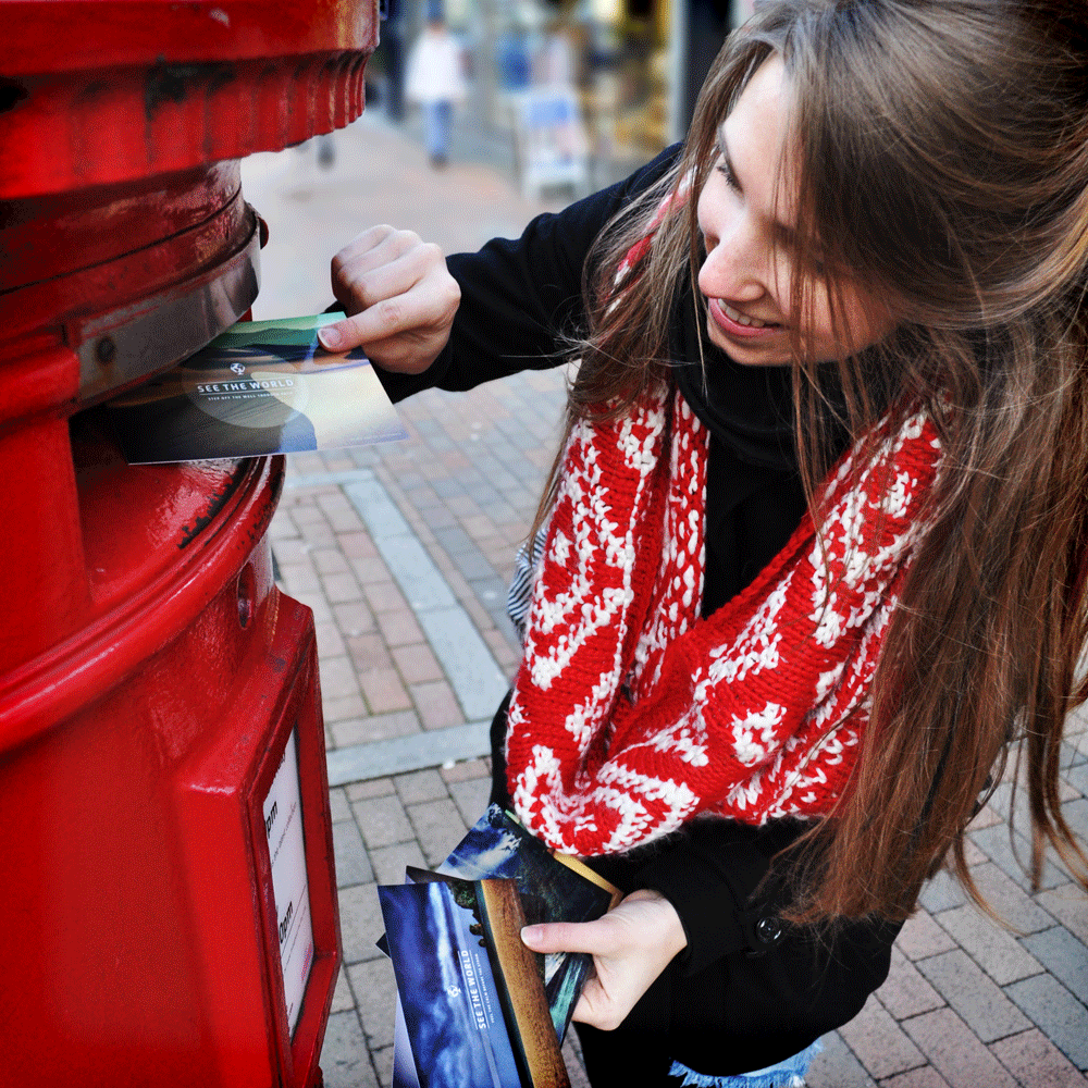 We like to call this one 'CEO and the Postbox'.