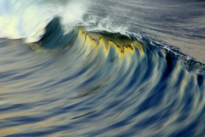ode to the ocean oceanside california wave