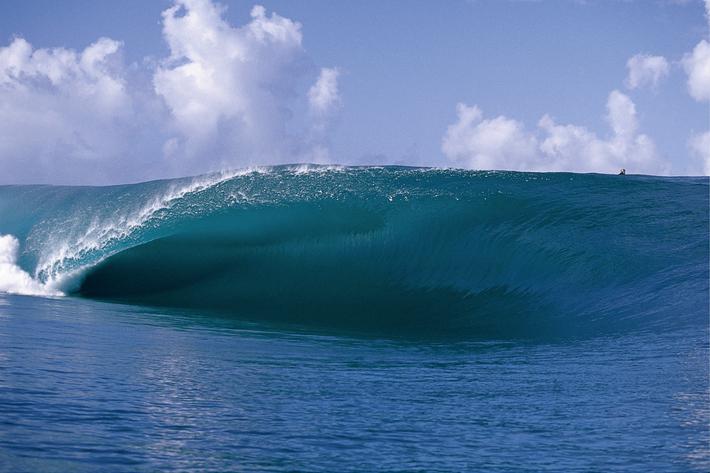ode to the ocean teahupo'o tahiti wave