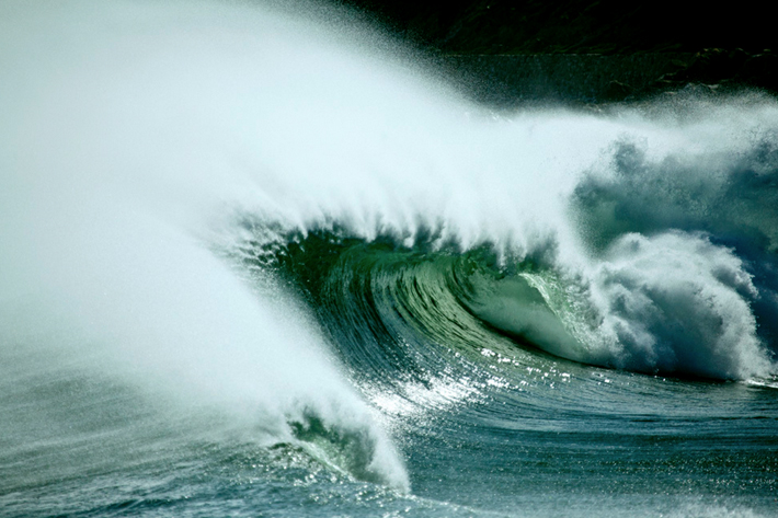 ode to the ocean cape town south africa wave