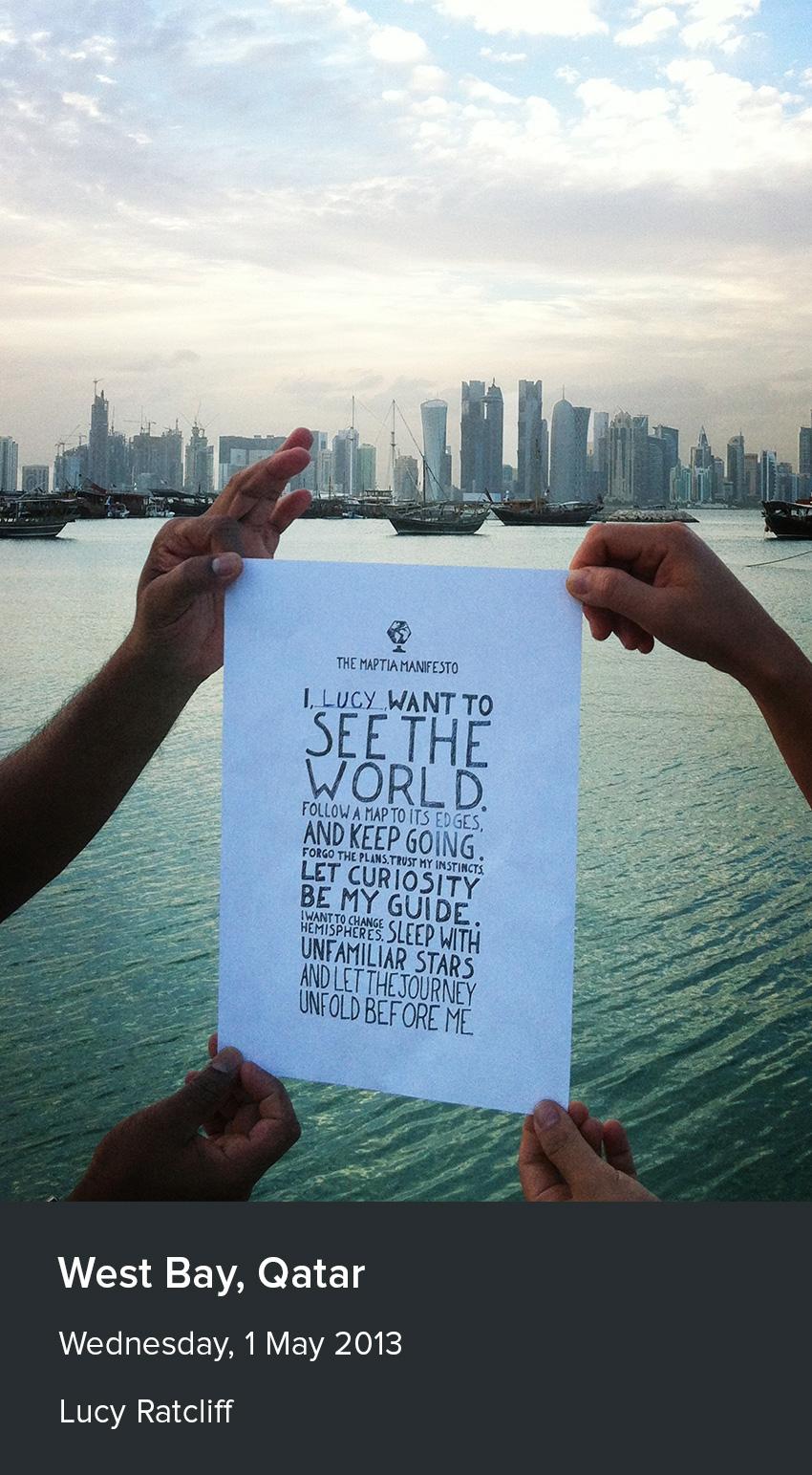 maptia manifesto qatar