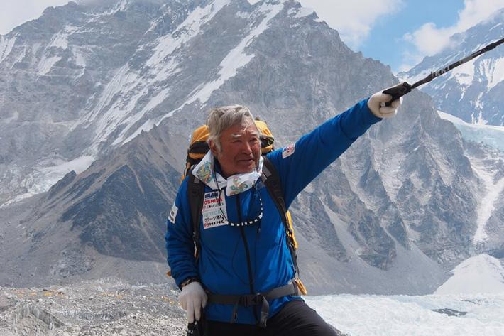 yuichiro miura mount everest climb