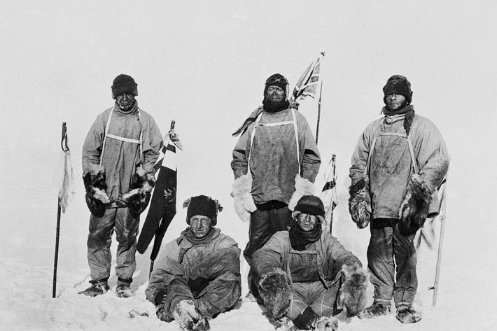 robert falcon scott antarctic expedition