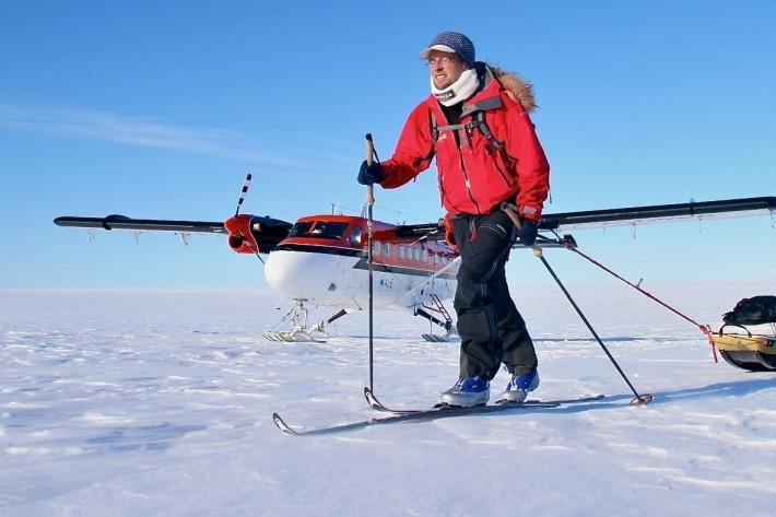 christian eide south pole trip