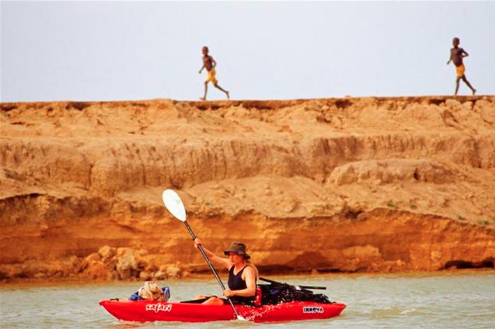 kira salak solo river kayak expedition