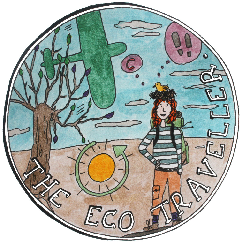 do good illustration eco traveller