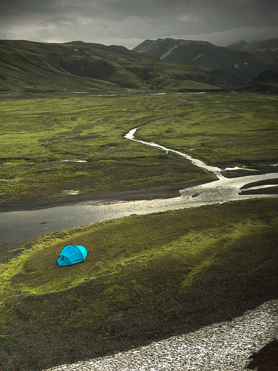 mt strútur iceland one man and his tent photo essay