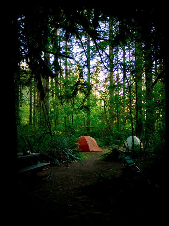 mount rainier one man and his tent photo essay