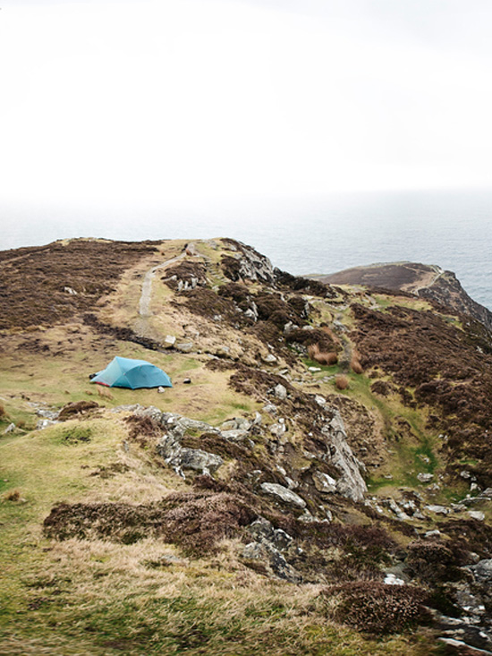 slieve league northern ireland one man and his tent photo essay