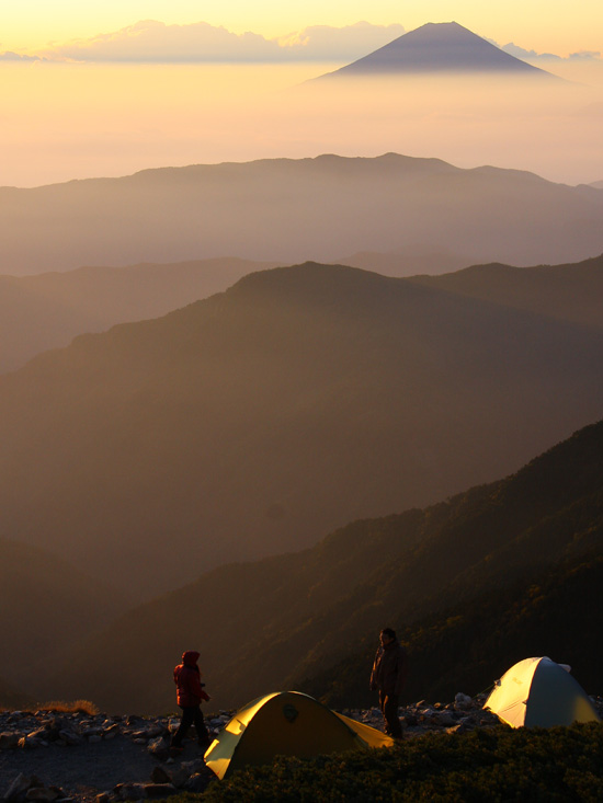 mount kita japan one man and his tent photo essay