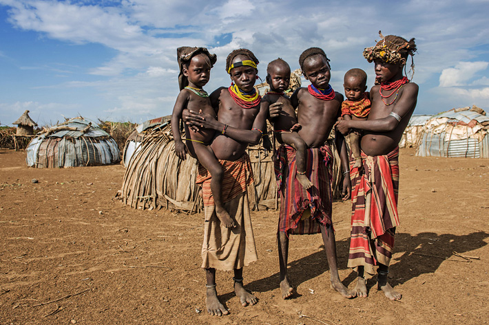 daasanach tribe ethiopia unusual tribal homes