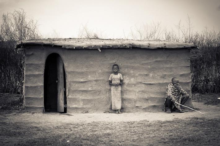 masaai hut kenya unusual homes