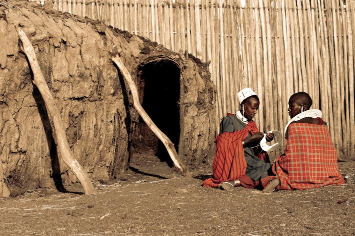 maasai women boma tanzania unusual homes