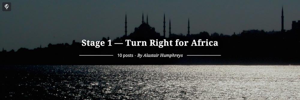 maptia, turn right for africa, alastair humphreys