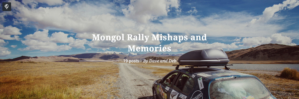 maptia, mongol rally mishaps and memories, dave and deb, the planetd