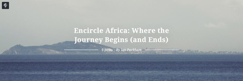 maptia, encircle africa, ian packham