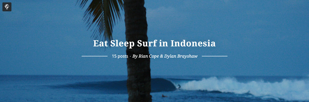 maptia, eat sleep surf