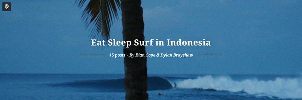 maptia, eat sleep surf