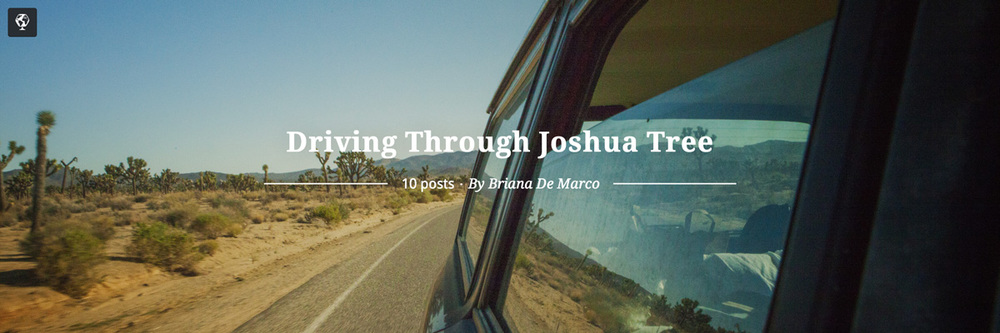 maptia, joshua tree, road trip, briana de marco