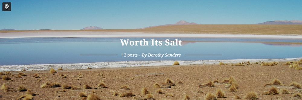 maptia, salt flats, dorothy sanders