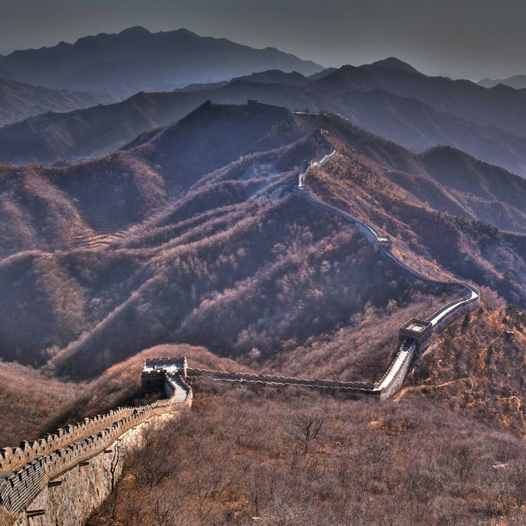 great wall of china, maptia, the planet d, dave and deb