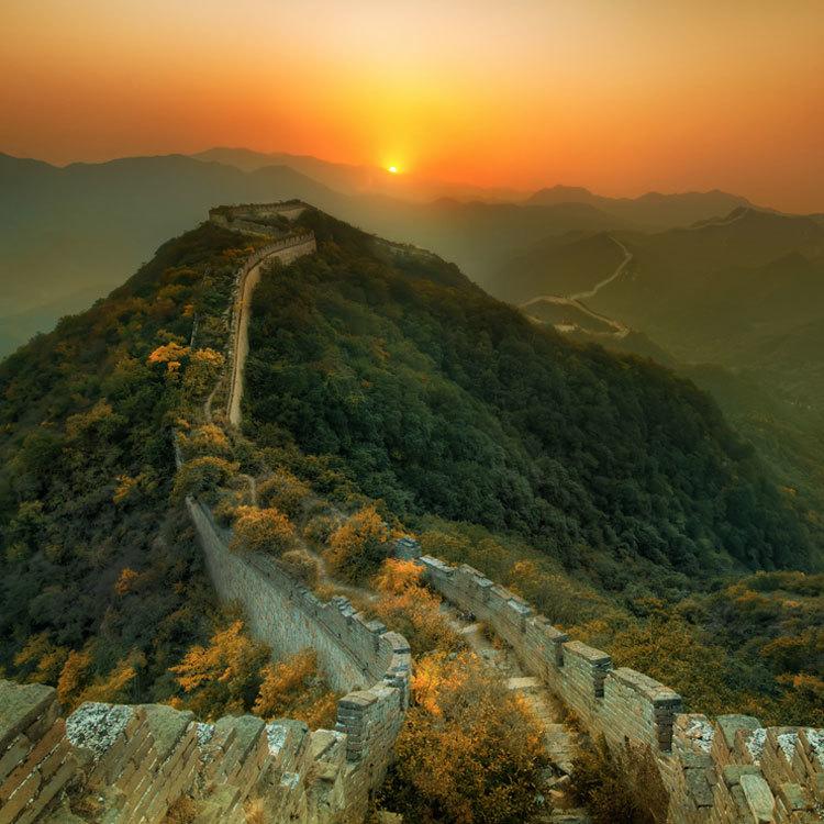 great wall of china, maptia, trey ratcliff