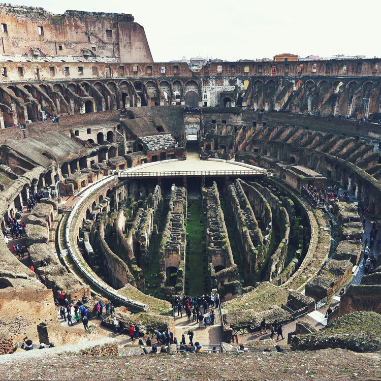 colosseum, maptia, twenty something travel, stephanie yoder