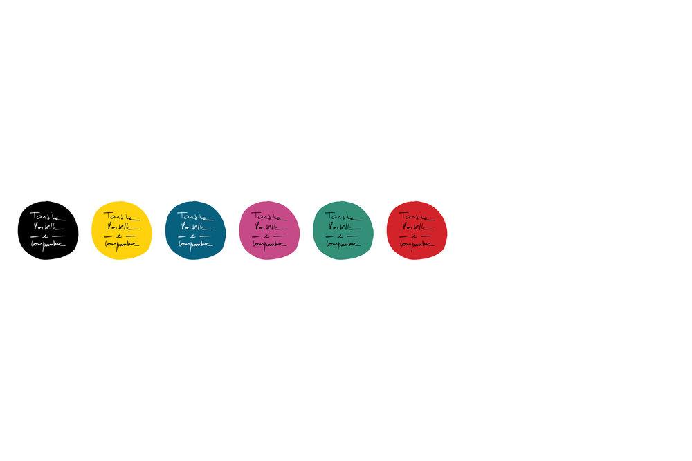 Tarsila Portella  2015   Cette identité visuelle a été développée en collaboration avec l'artiste elle-même. La typographie a été construite à partir d'un dessin de l'artiste et on a voulu, dans le travail avec la palette de couleurs, faire référence aux bâtiments mexicains.  --- a identidade visual foi feita em colaboração com a própria artista. A tipografia foi construída a partir de um desenho escolhido pela artista. A paleta de cor faz referência às construções mexicanas.