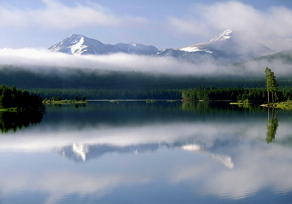 Morning Mist, Lake Dillon