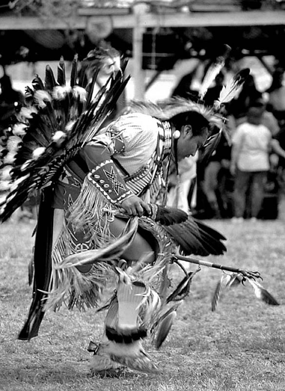 Dancer, Rose Bud Reservation, S.D.