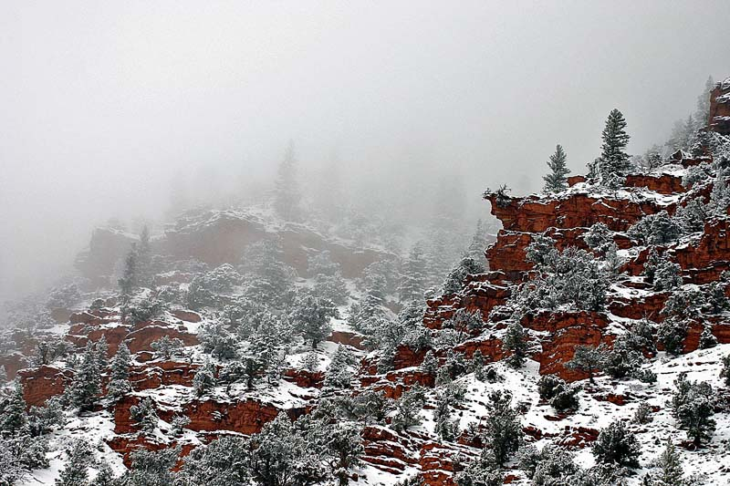 Red Rocks Winter 2