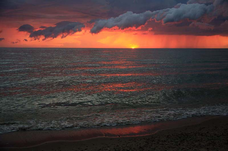 Lake Michigan Sunset