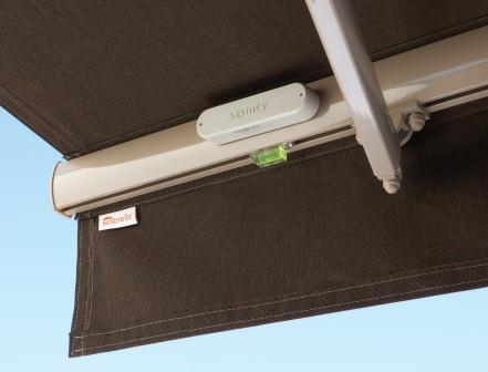 Optional wind sensor