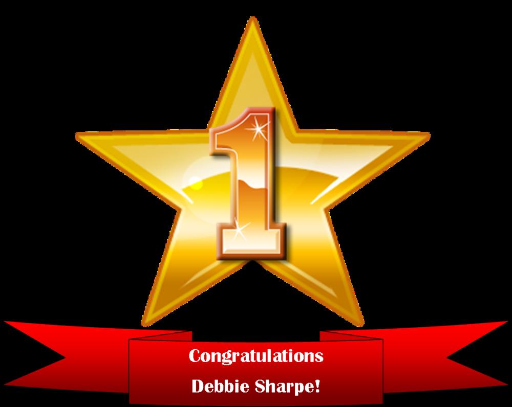 Congratulations Debbie!