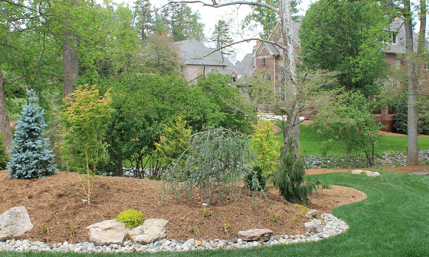 Nothing enhances a home like beautiful landscaping. A well-designed landscape also adds value to your home. We design with beauty, maintenance needs, and how you want to use your landscape in mind. Need a play area for the kids? Love entertaining outdoors? Let us help your landscape fit your needs.