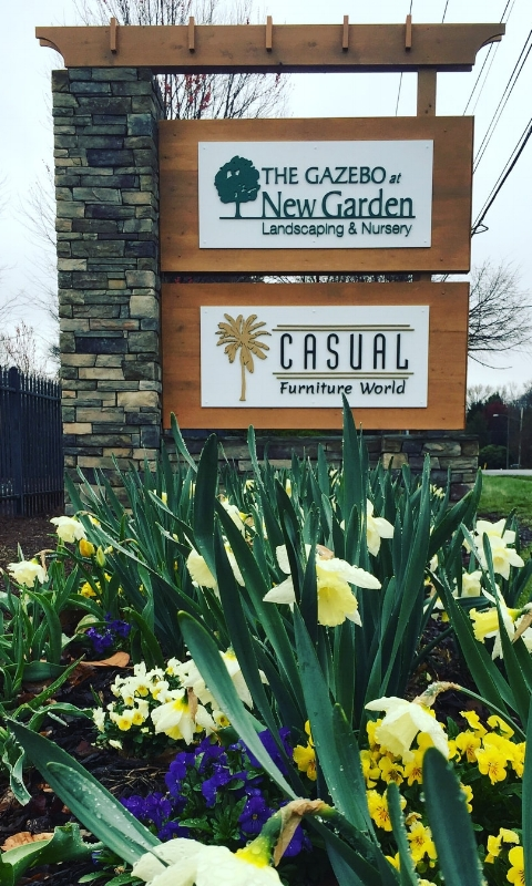 Visit New Garden Gazebo and  Casual Furniture World  together at 3811 Lawndale!