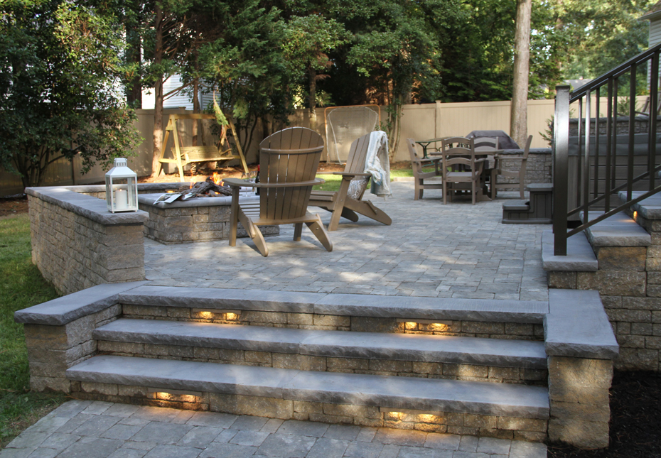 Carriage Stone Patio & Steps